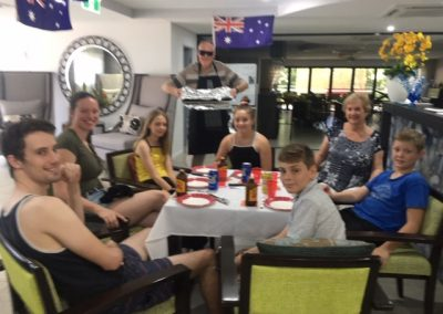 Australia Day with family