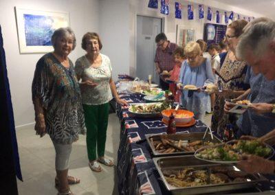 Australia Day feast