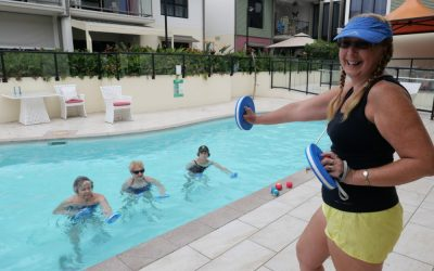 Aqua Aerobics: Mellissa's Journey from participant to instructor